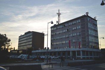 Europoint i zgrada Telekoma
