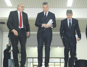 Tarzan Milošević, Milo Đukanović, Svetozar Marović