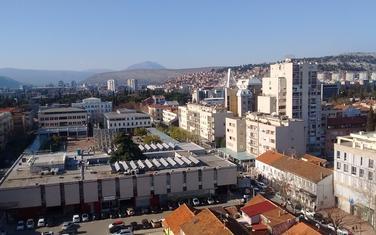 Panorama Podgorice, pogled u pravcu sjeverozapada