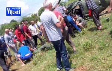 pad helikoptera spasavanja Arifovića
