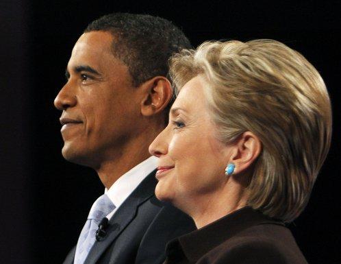Barak Obama, Hilari Klinton