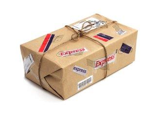 paket, pošta