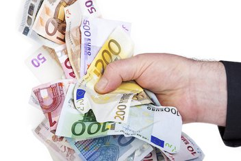 Euro, novac, korupcija