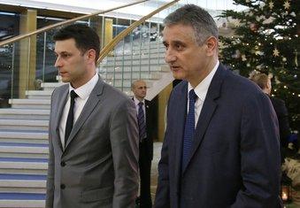 Božo Petrov i Tomislav Karamarko