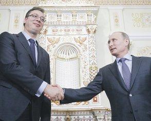 Aleksandar Vučić Vladimir Putin
