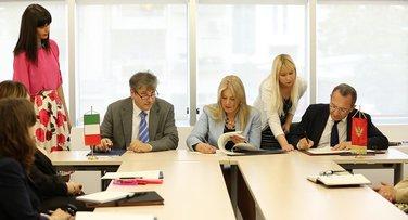 Sporazum o saradnji u oblasti veterine i bezbjednosti hrane, Crna Gora, Italija