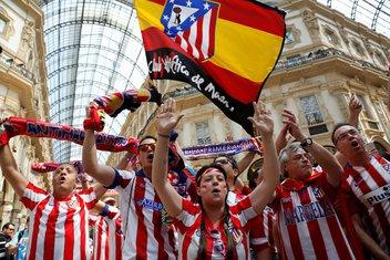Navijači Atletiko Madrida