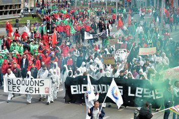 Belgija, protest