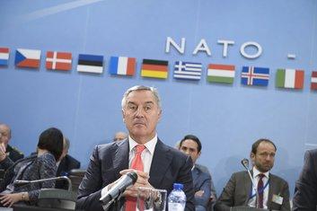 Milo Đukanović, NATO
