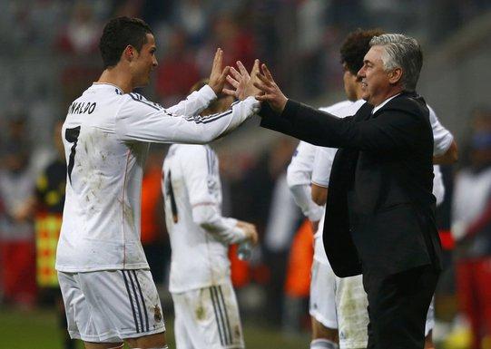 Ronaldo i Anćeloti