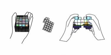 Ekran kao Rubikova kocka