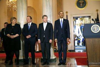 Barak Obama, nordijski lideri