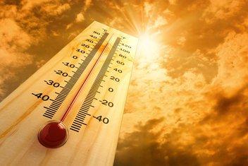 vrućina, termometar, sunce, vremenska prognoza
