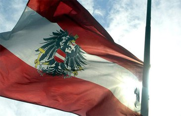 Austrija, zastava