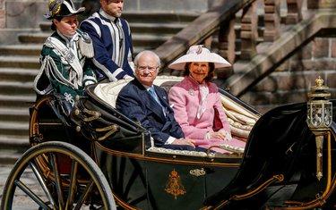 Kralj Karl XVI Gustav, kraljica Silvija