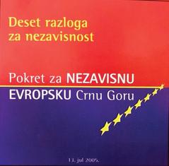 Pokret za nezavisnu Crnu Goru