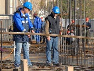 Radnici na građevini (Ilustracija)