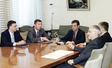 predsjednici, Beograd, oktobar 2001.