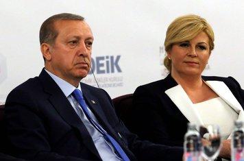 Tajip Erdogan, Kolinda Grabar Kitarović
