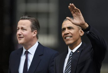 Dejvid Kameron, Barak Obama
