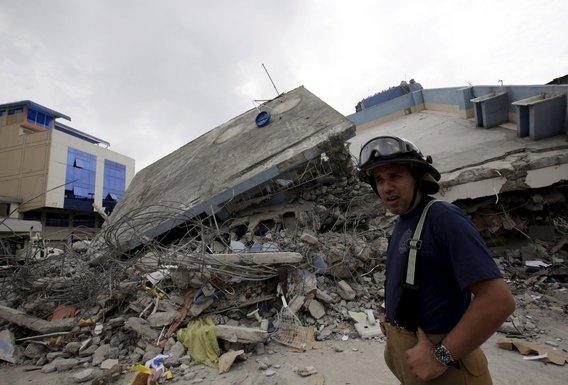 Ekvador zemljotres