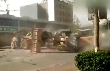 Kina tuča buldožera