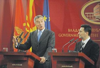 Đukanović i Gruevski