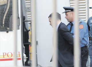 hapšenje Flavija Bjanka