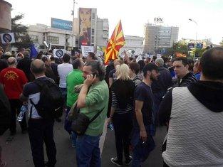 Skoplje, protest