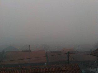 Pljevlja, magla