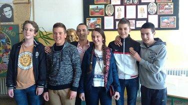 učenici škole Ratko Žarić