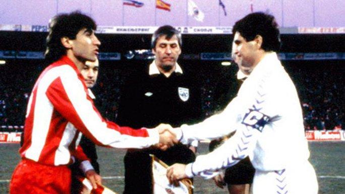 Crvena zvezda - Real 1987