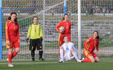 crnogorske fudbalerke