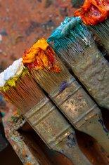 Četkice, slikanje, slika
