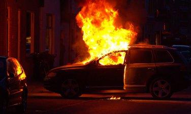 Izgorjeli automobil