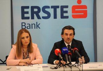 Erste banka, Relja Đurović, Danijela Vukoslavović