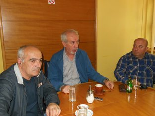 Ismet Hodžić, Nikola Kilibarda, Radivoje Knežević