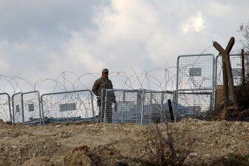granica, Sirija-Turska, vojnik