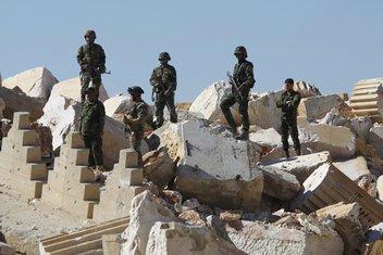 Palmira, Sirijska vojska