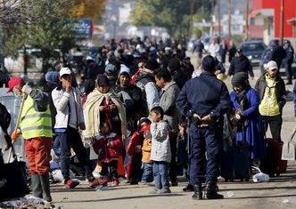 Preševo migranti