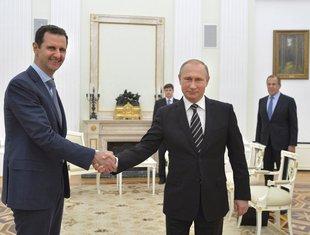 Bašar al-Asad, Vladimir Putin