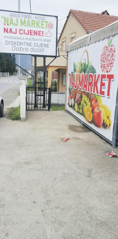 Naj market, Spuž (Novine)