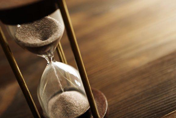 pješčani sat, vrijeme