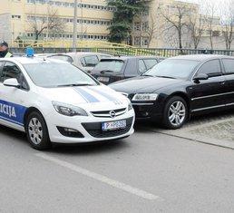 Audi, policija