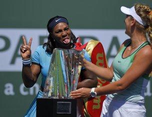 Viktorija Azarenka i Serena Vilijams