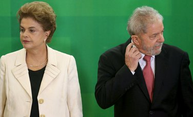 Dilma Rusef, Luis Injasio Lula da Silva