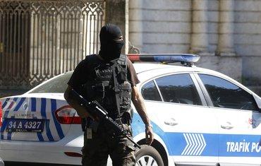 Istanbul, Turska policija
