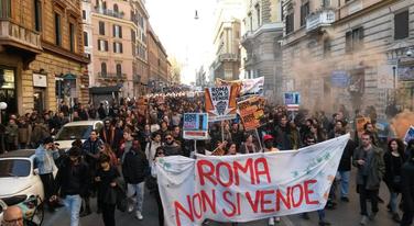 Demonstracije Rim