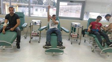 Transfuzija krvi, SŠ Vaso Aligrudić