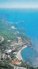 obala, Sveti Stefan, Miločer